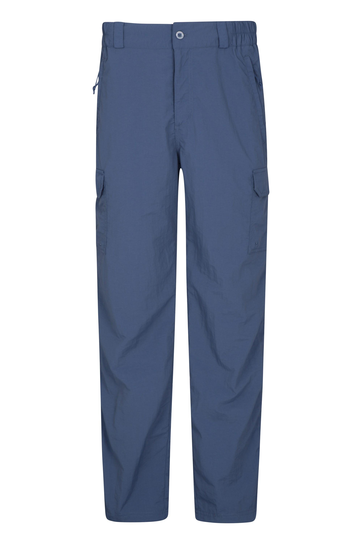 Explore Mens Trousers - Short Length - Blue