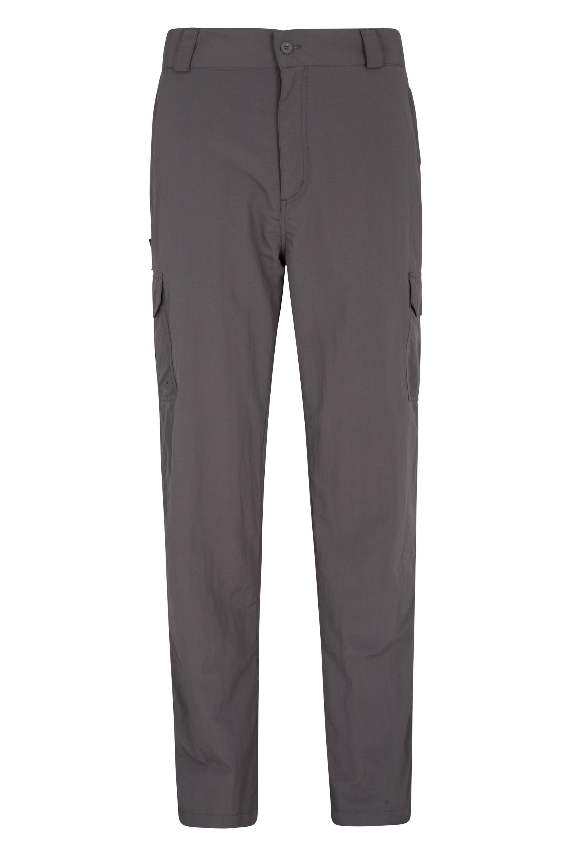 Explore Mens Trousers - Short Length - Grey