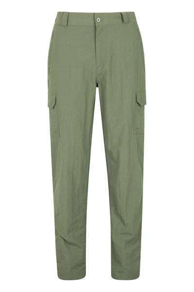 Explore Mens Trousers - Short Length - Green