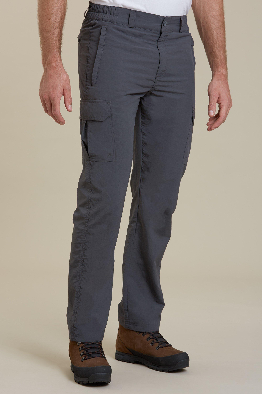 Mountain Warehouse Men Explore Short Zip-Off Trouser Zip-Off Trousers