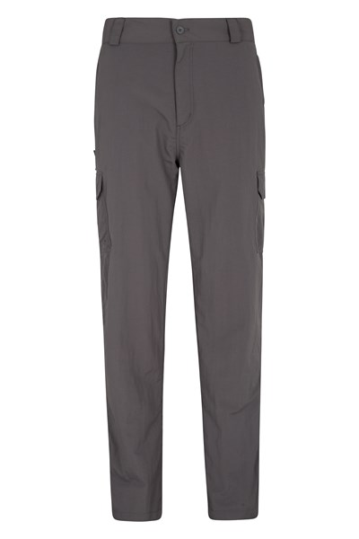 Explore Mens Trousers - Grey