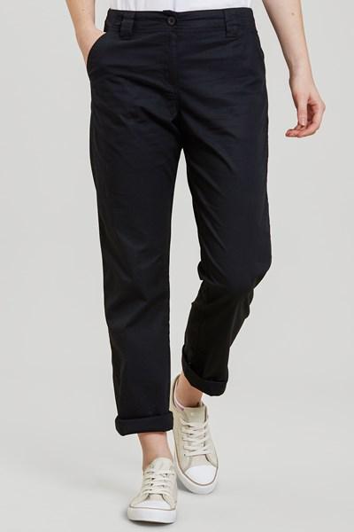 Coast Stretch Womens Trousers - Black