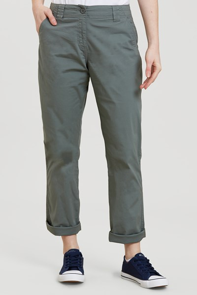 Coast Stretch Womens Trousers - Green