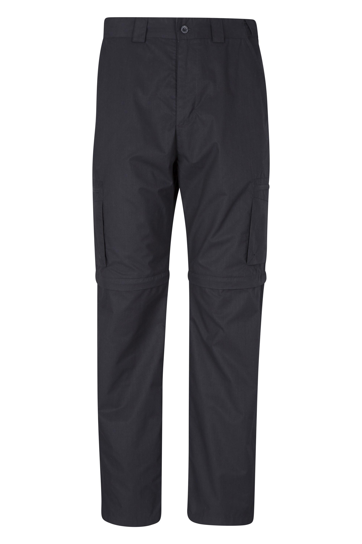 Trek Mens Convertible Trousers - Black