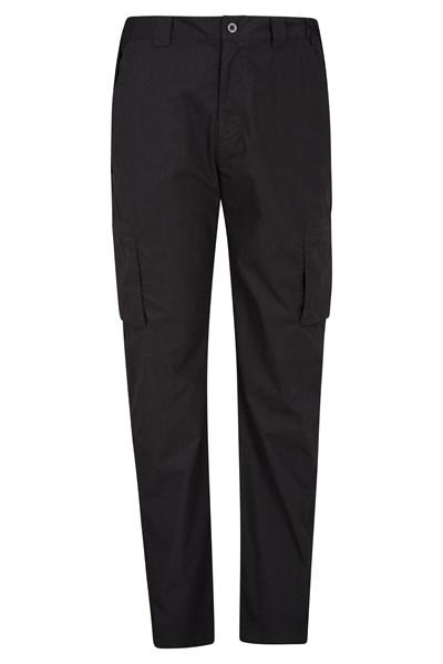 Trek Mens Trousers - Long Length - Black