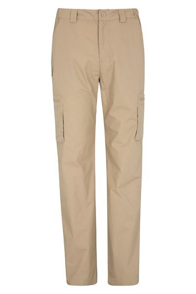 Trek Mens Trousers - Long Length - Beige