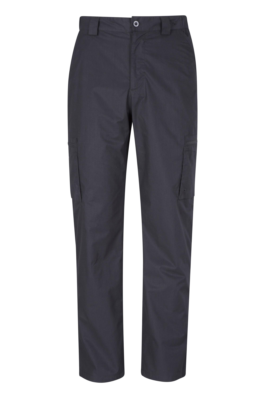 Trek Mens Trousers - Short Length - Black