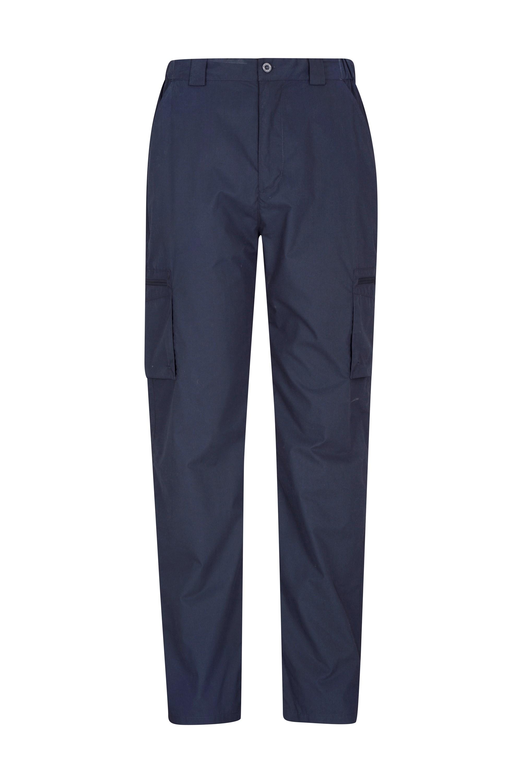 Trek Mens Trousers - Short Length - Navy