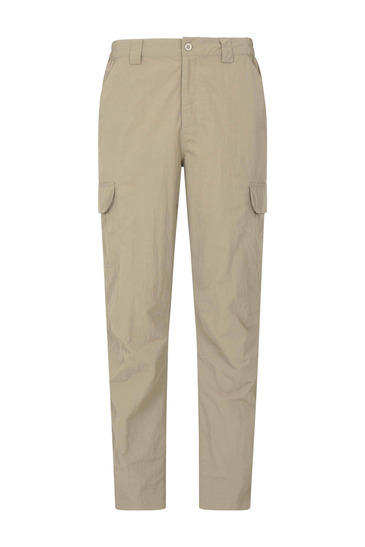 Trek II Mens Trousers - Beige