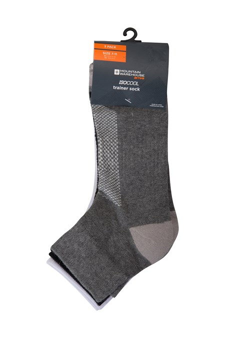 025064 ISOCOOL ANKLE SOCK 3 PACK