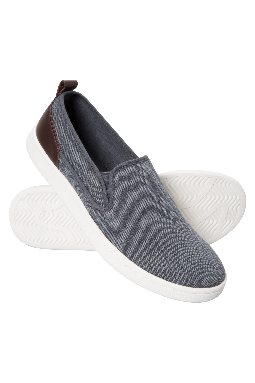 Drift Canvas Mens Slip-On Shoes - Blue