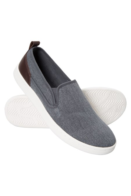 ee0b5a46f35 Drift Canvas Mens Slip-On Shoes - Denim