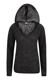 IsoCool Dynamic Burnout Womens Hoodie