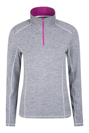 IsoCool Dynamic Luscious Touch Half-Zip Top