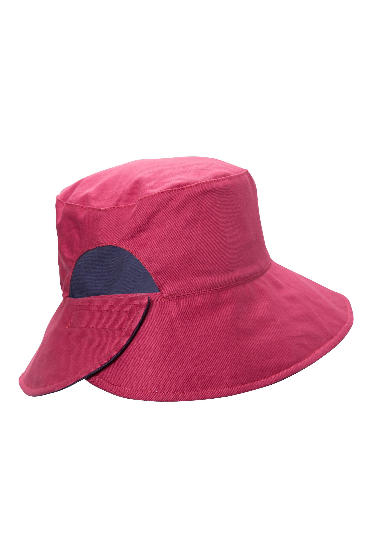 Reversible Plain Womens Bucket Hat  0593aa091748