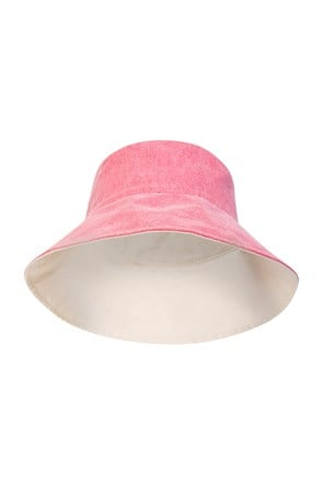 Reversible Plain Womens Bucket Hat