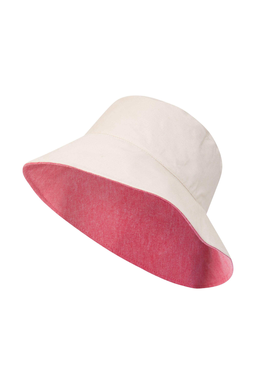 973254c5dc6 Reversible Plain Womens Bucket Hat