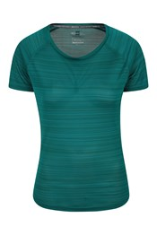 Endurance Damen T-Shirt - Gestreift