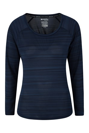 Endurance Damen Top - Gestreift