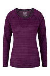 Endurance Striped Womens Top