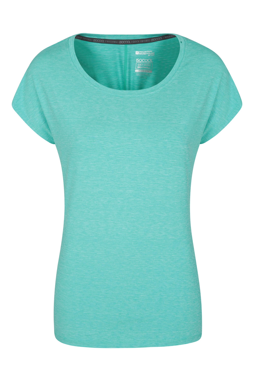 IsoCool Dynamic Panna Lockeres Damen T-Shirt - Mintgrün