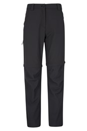 Region 4-Way-Stretch Womens Convertible Trousers