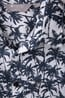 025168 TROPICAL PRINTED SS SHIRT