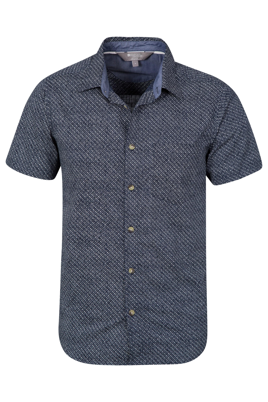 Cactus Mens Printed Short Sleeved Shirt Mountain Warehouse Gb
