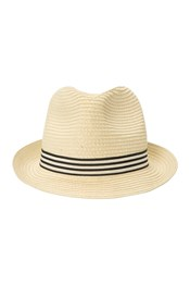 Trilby Mens Straw Hat