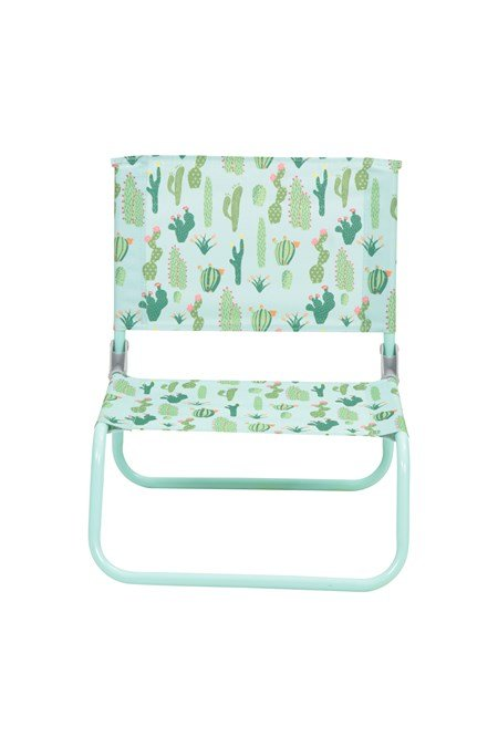 025179 LOW BEACH CHAIR - PATTERNED
