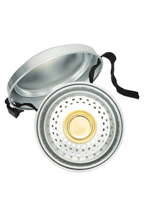 Compact Cooking Set with Burner
