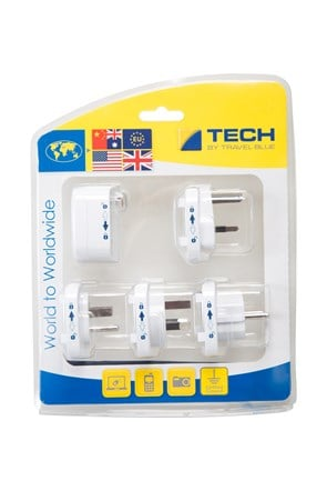 Travel Blue Worldwide Adaptor Set