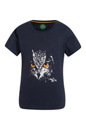 Steve Backshall Owl Kids Tee