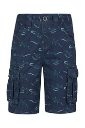 Steve Backshall Alligator Kids Cargo Shorts