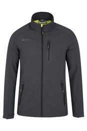 Omega Mens Textured Softshell