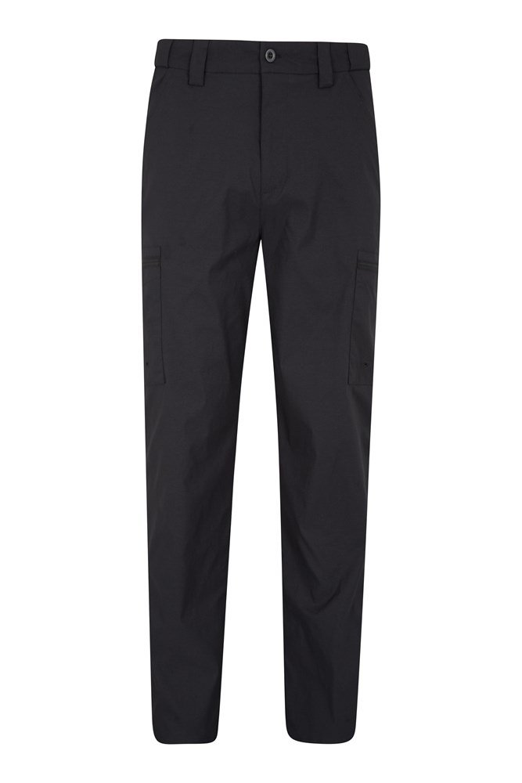Trek Stretch Mens Trousers - Long length - Black