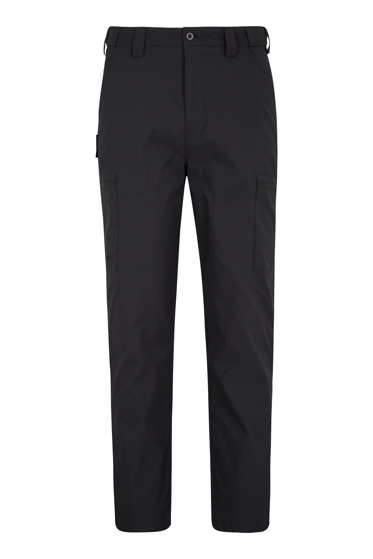 Trek Stretch Mens Trousers - Regular length - Black