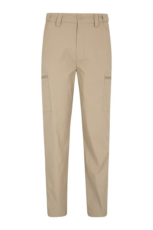 Trek Stretch Mens Trousers - Regular length - Beige