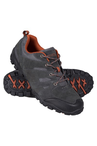 Outdoor Mens Walking Shoes - Grey