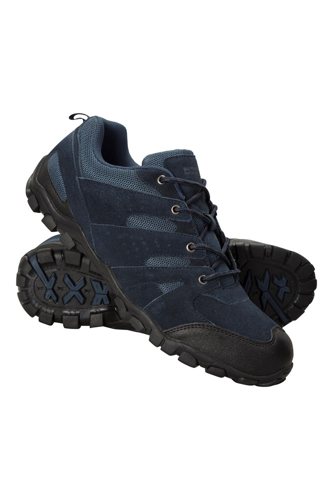 Outdoor Mens Walking Shoes - Navy