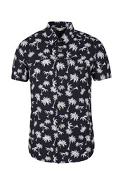 Lambay Printed Mens Short Sleeved Shirt