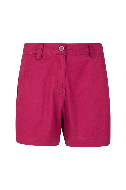Riverside Womens Shorty Shorts - Pink