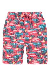 Aruba Printed Mens Swim Shorts