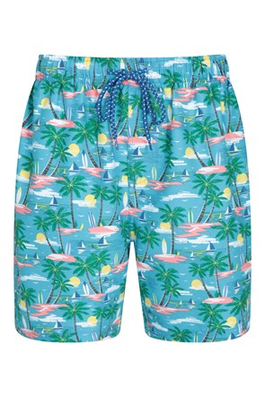 Aruba Printed Mens Swimshorts