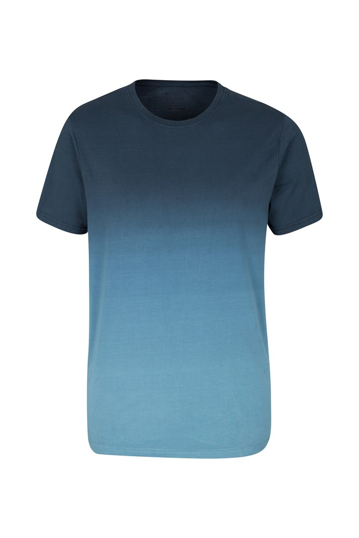 Men 39 s t shirts australia for Mens dip dye shirt