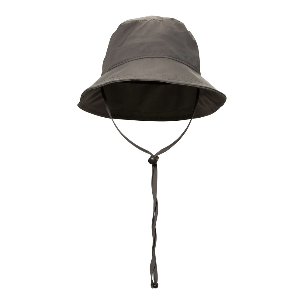Mountain Warehouse IsoDry Mens Bucket Hat with Adjustable Chin Strap ... b1be2eda7a0
