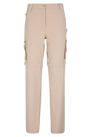 Travelling Stretch Womens Convertible Trousers