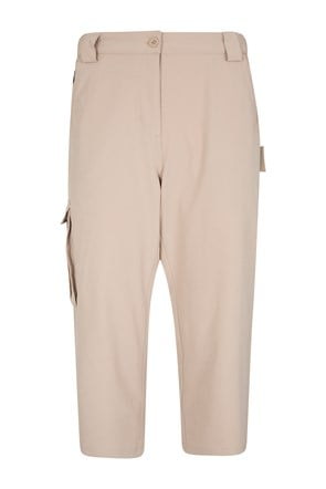 Travelling Stretch Womens Capris