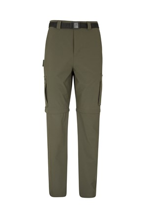 Travelling Stretch Anti-mosquito Convertible Mens Trousers