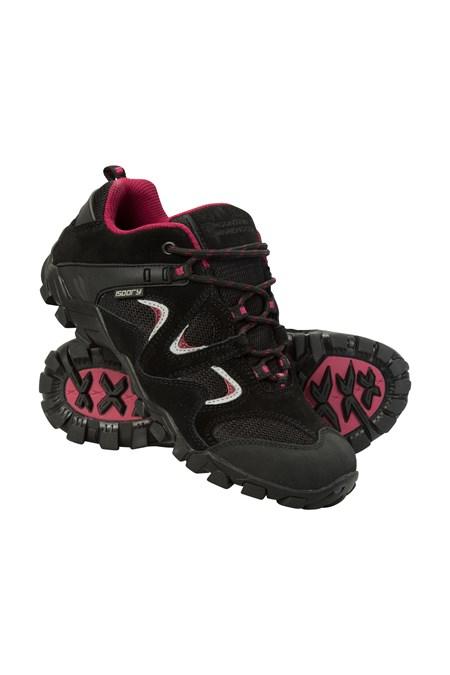 Curlews Womens Waterproof Shoes - Black bca366296